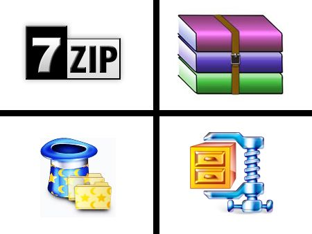 Compression Performance: 7-Zip, MagicRAR, WinRAR, WinZip | Tom's Hardware