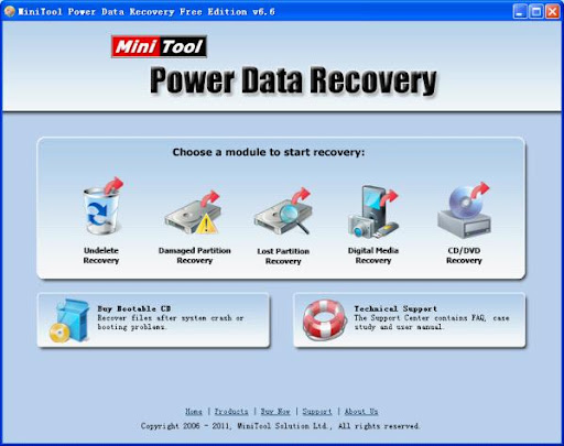 Professional hard disk recovery software.