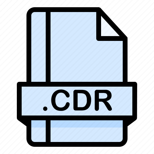 Cdr, file, file extension, file format, file type icon - Download on Iconfinder